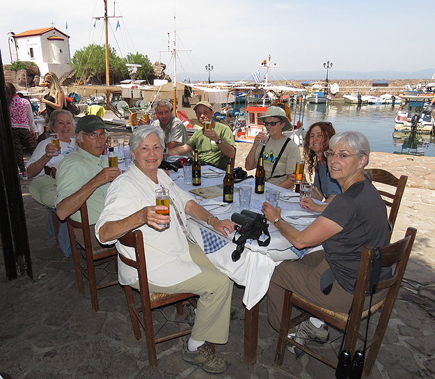 Group in Lesvos.