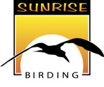 Sunrise Birding logo designed by Julian Hough