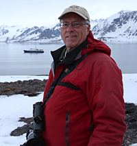 Frank Mantlik in Svalbard. 2016